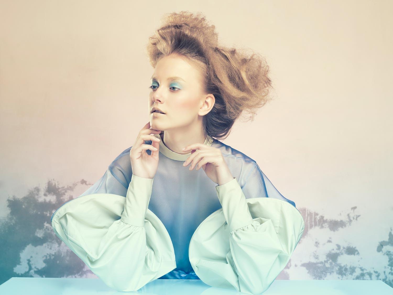 Gabriela Revellese – účes ako zaujímavý výčes z kolekcie Imprese pre rok 2014.