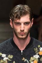 Pánské účesy S/S 2016 – Dolce&Gabbana