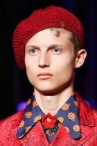 Pánské účesy S/S 2016 – Gucci