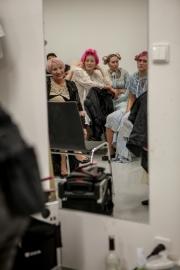 Účesy Adely Kodetovej a backstage AICHI 2015