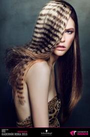 Kaderník roka 2015: Dámsky komerčný účes Morava (Lenka Gorčíková – Hair Studio Piel)