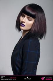 Kaderník roka 2015: Dámsky komerčný účes Slovensko (Marieta Murga – Lekart Hairdressing)