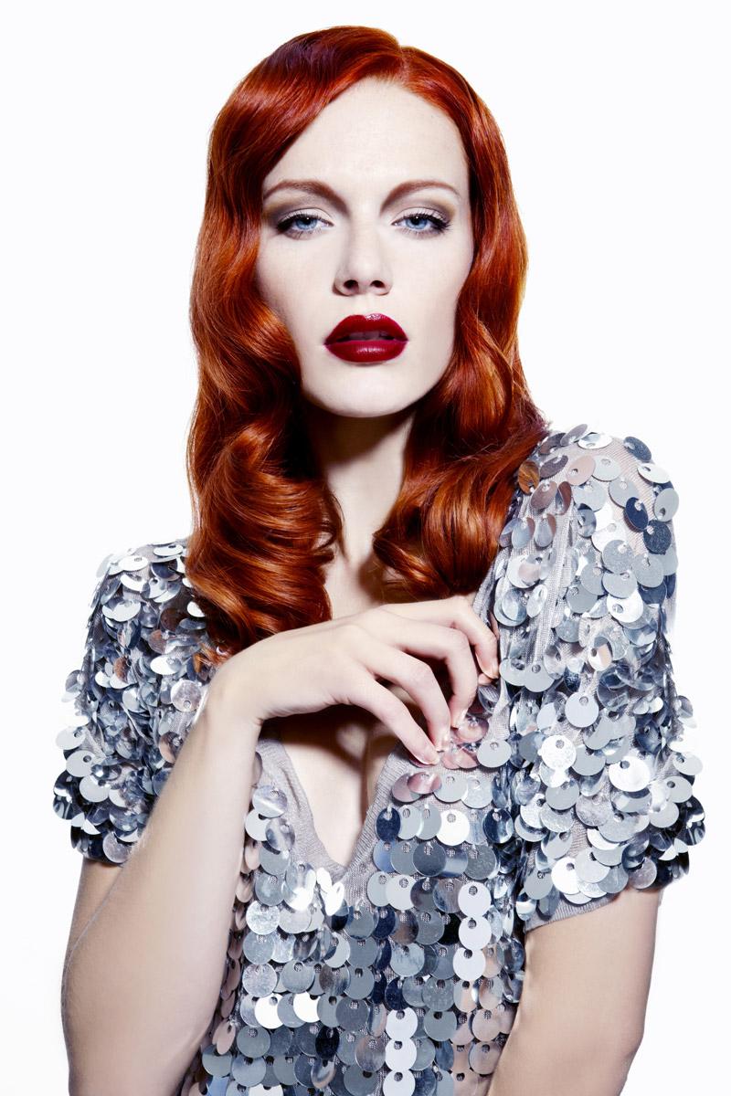 Účes Glamour vlny, kaderníctvo Hair Art Design – Monika Kostecká.