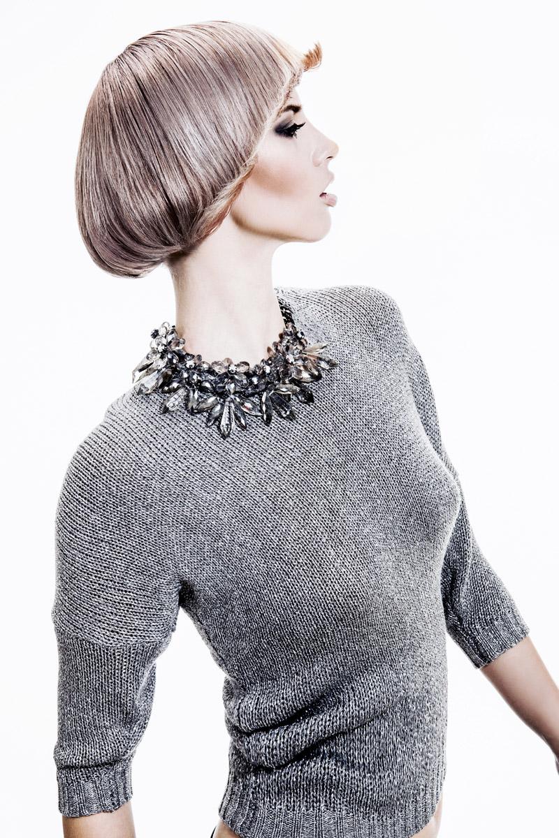 Účes Retro glamour štýl, kaderníctvo Hair Art Design – Monika Kostecká.