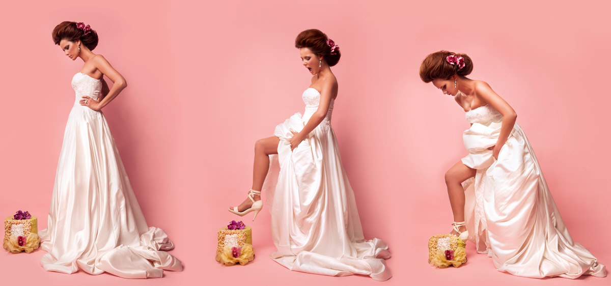 Svatební kolekce účesů The Wedding dream – Hair studio Honza Kořínek.