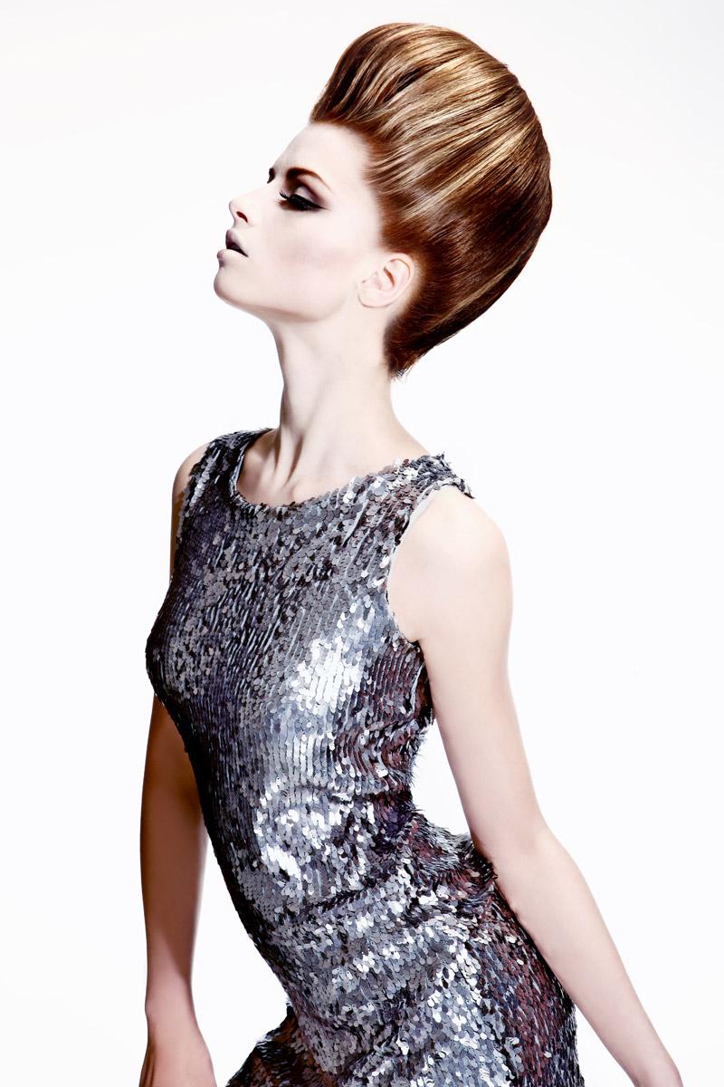 Účes Pop štýl, kaderníctvo Hair Art Design – Monika Kostecká.
