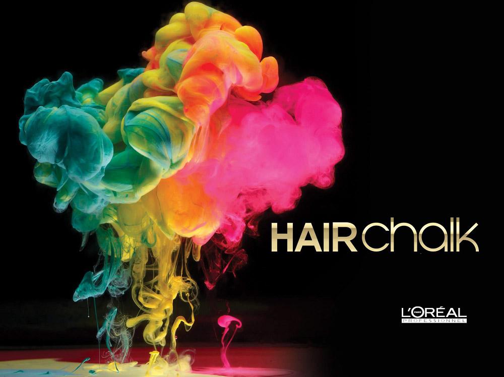 Hairchalk je prvý make-up na vlasy