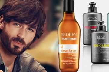 REDKEN prišiel s novinkou vlasovej kozmetiky vyložene pre mužov – so špeciálnym pánskym šampónom Redken Clean Brew.