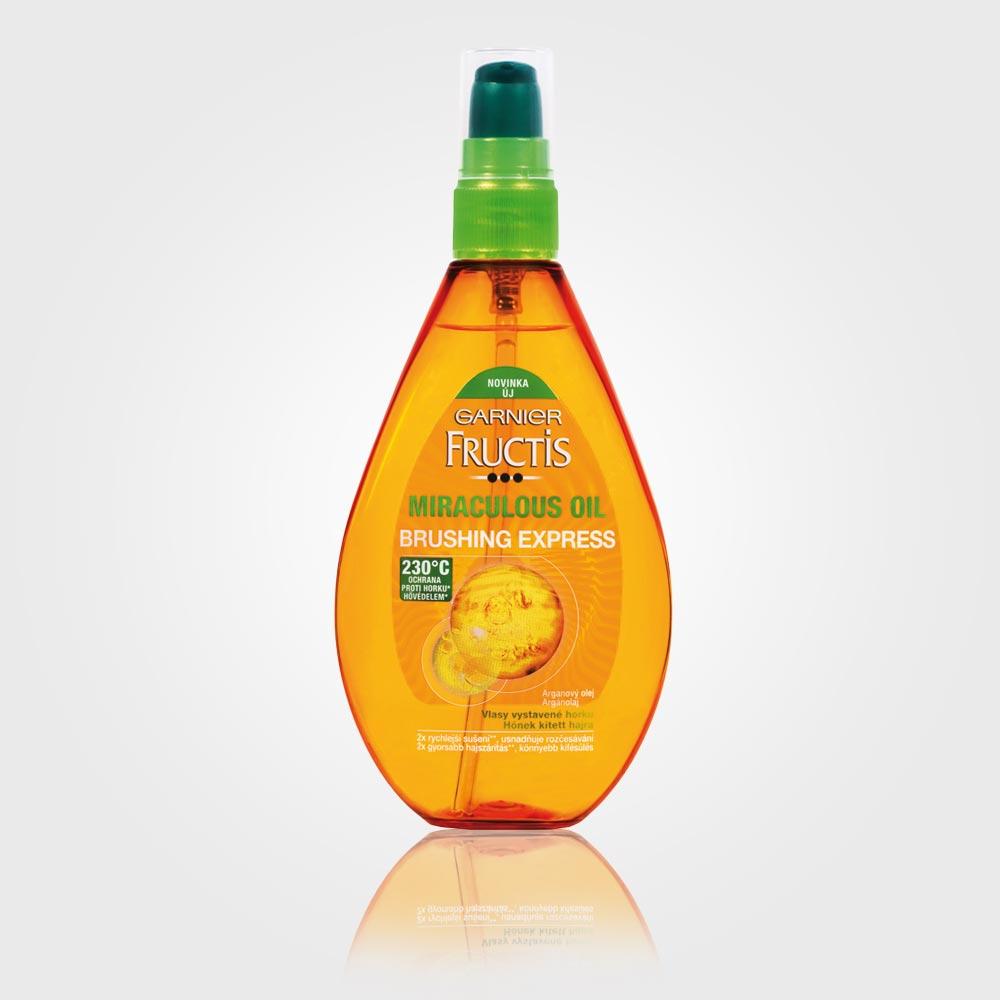 Špeciálny vlasový olej Garnier Miraculous Oil Brushing Express, cena: 6,79 EUR