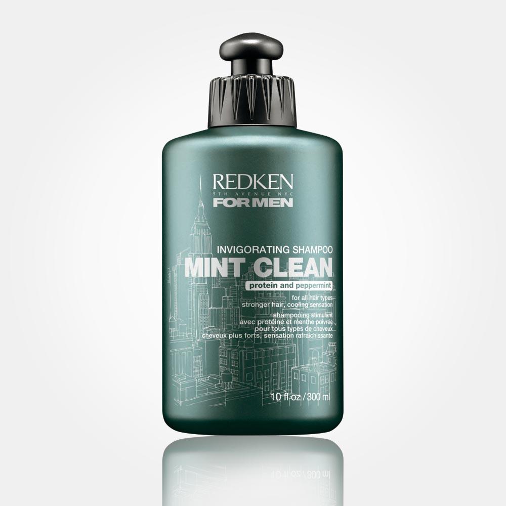 Šampón pre mužov REDKEN FOR MEN – MINT CLEAN: povzbudí vaše vlasy.