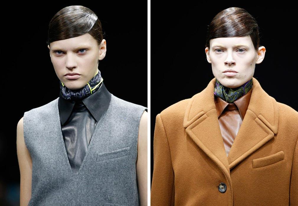 Účesy z RTW kolekcie Alexander Wang pre jeseň a zimu 2014/2015 smelo skombinujete aj s jeho kolekcií Alexander Wang pre H&M, ktorá sa ešte tento rok objaví na pultoch vybraných H&M butikov.
