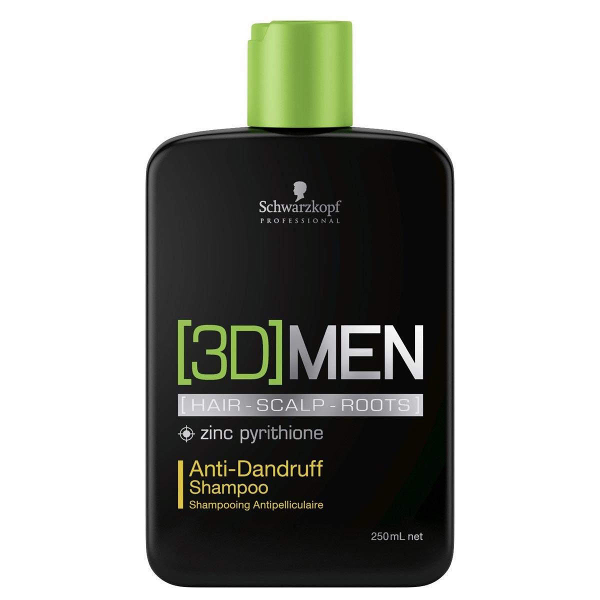 [3D]MEN Šampón proti lupinám