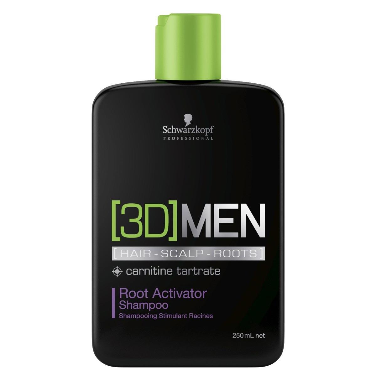 [3D]MEN Šampón pre aktiváciu korienkov
