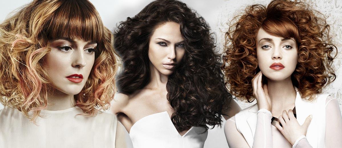 Galerie účesů – vlnité vlasy a kudrnaté vlasy