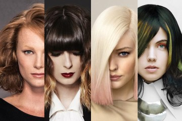 Aké nové účesy pre polodlhé vlasy sú trendy v sezóne jeseň a zima 2014/2015? Poďte sa inšpirovať horúcimi novinkami!