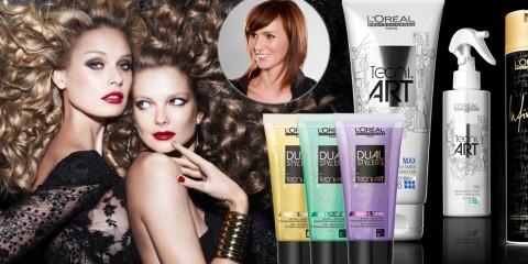 Vyskúšajte nové stylingové prípravky Dual Stylers z radu Tecni.Art od L'Oréal. Ako ich kombinovať s inými vám poradí kaderníčka a stylistka Misha Čadková.