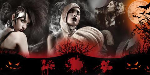 Poďte sa báť! Halloweenske účesy a strašidelný make-up vás príjemne naladí na tradičný sviatok. Rozsvieťte si tekvicu a bavte sa!