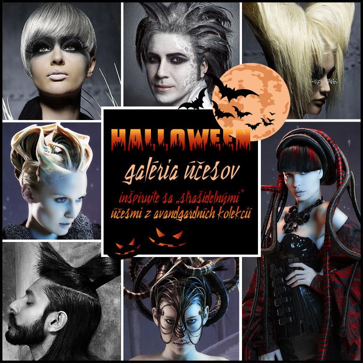 Poďte sa báť s halloweenskymi účesy! 31. októbra sa oslavuje Halloween!