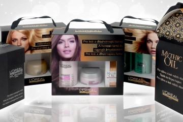 Vianočné darčeky L'Oréal Professionnel sú skvelým riešením, ako pod stromček venovať svojim blízkym, priateľom či známym krásne a zdravé vlasy.