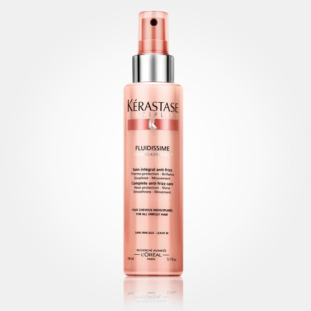 Finálna starostlivosť pre vlasy náročné na úpravu s ochranou proti krepateniu.