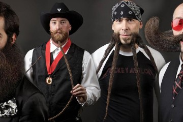 Každý rok sa na World Beard and Moustache Championships stretnú fúzači z celého sveta, aby sa stretli v súťaži o najlepší fúzy. Pozrite sa na najlepšie.