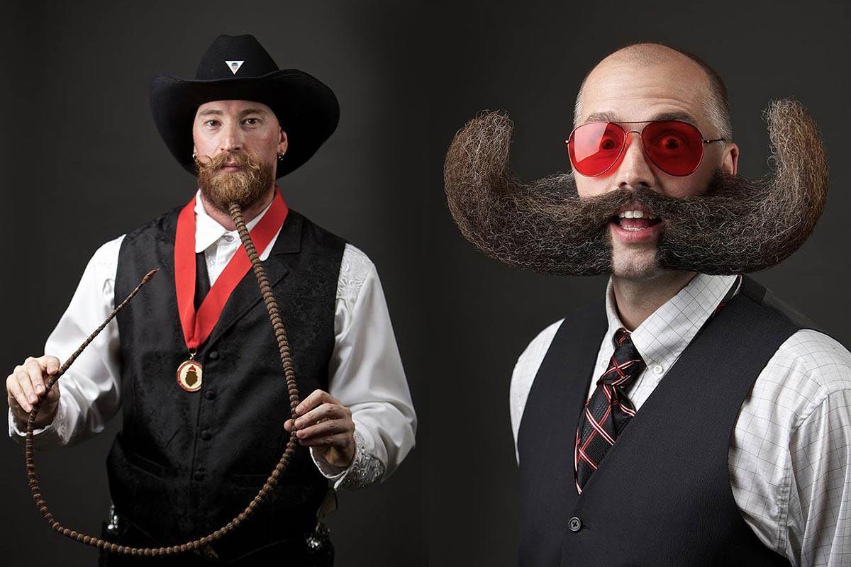 World Beard and Moustache Championships predstavil najlepšie fúziky, fúzy a briadky roku 2014. Všetko je zaručene pravé!
