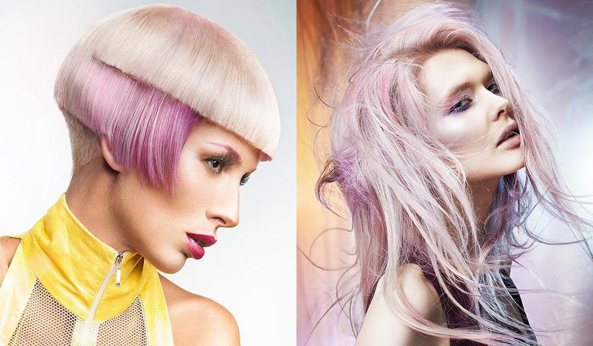 Hitom roku 2015 je ružový melír v blond vlasoch.