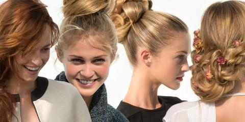 Či už na ples, večierok alebo do divadla – spoločenské účesy pre dlhé vlasy z kolekcie Saint Alguem sú skvelým riešením, ako sa slávnostne učesať.