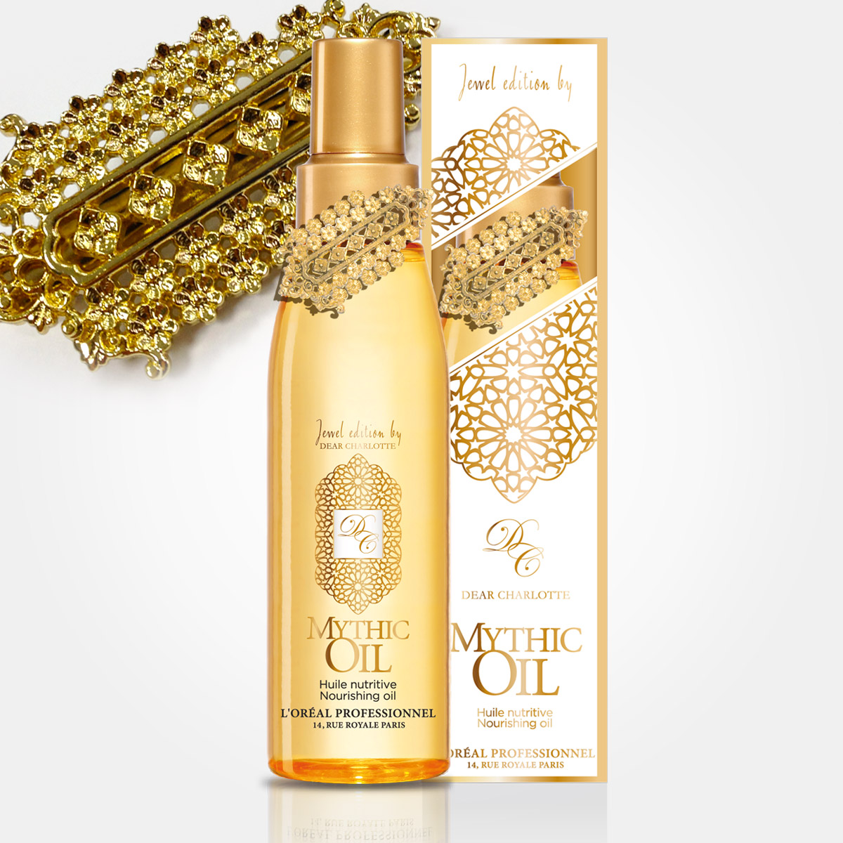 Mythic Oil so šperkom od Dear Charlotte