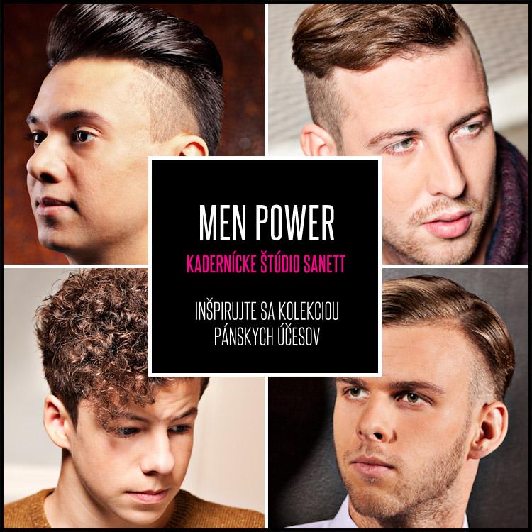 Tím kaderníckeho štúdia Sanett predstavil svoju prvú kolekciu pánskych účesov, ktorá dostala názov Men Power.