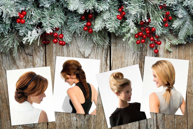 Rýchle účesy pre dlhé vlasy ako sviatočné účesy na poslednú chvíľu. Zvládnete je tiež!