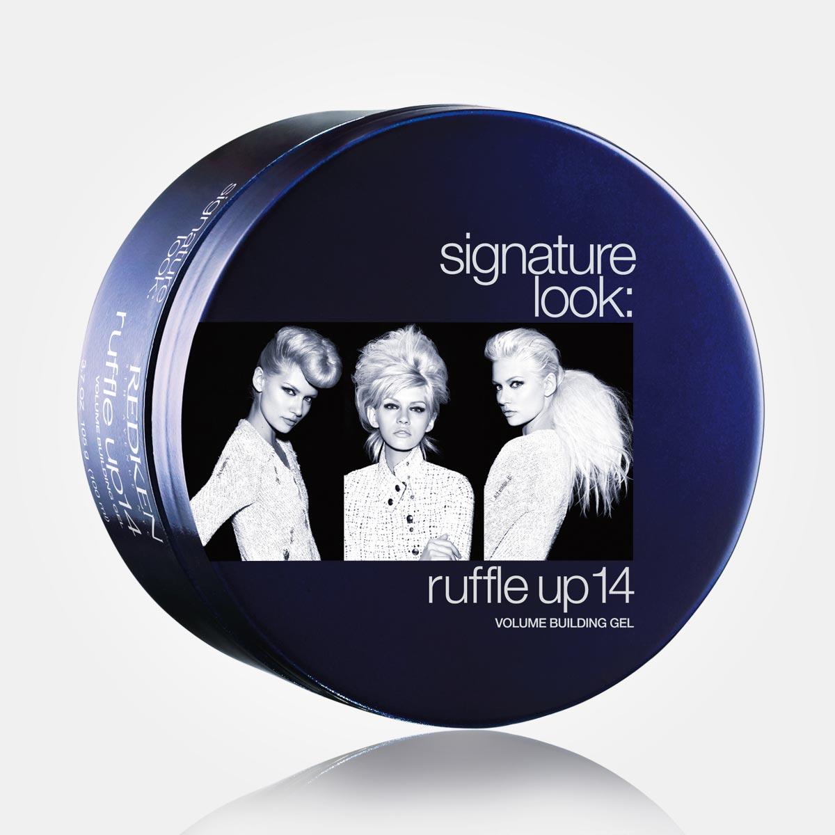Ruffle up14 z radu Signature Look je na vlasy, ktoré potrebujú plnosť a objem.