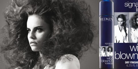 Naučte sa na vlasy správne aplikovať nový styling Redken Signature Look – Wind blown 05. Dodá vašim vlasom objem pri fúkaní.