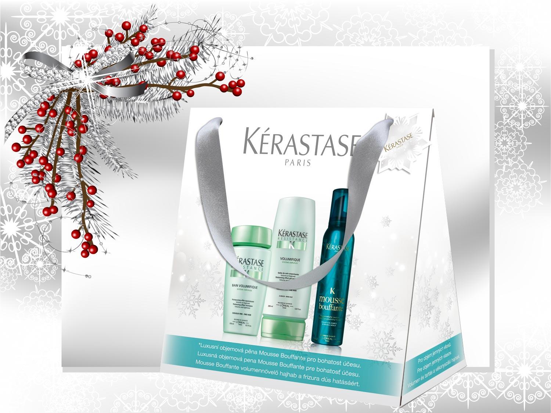 Vianočné darčeky Kérastase: Balíček – Volumifique