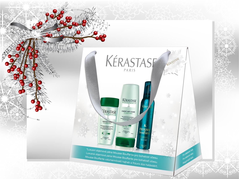 Vianočné darčeky Kérastase: Balíček – De Force