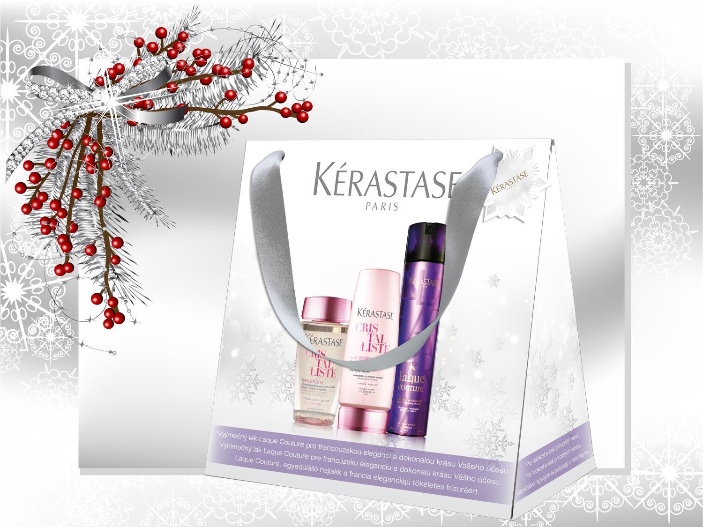 Vianočné darčeky Kérastase: Balíček – Cristal