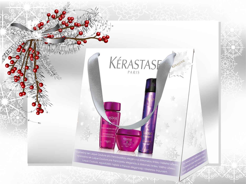 Vianočné darčeky Kérastase: Balíček – Chroma Riche
