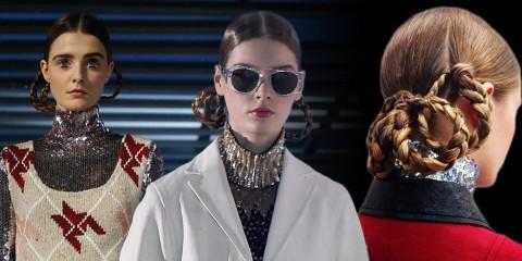 Účesy s vrkôčikmi sprevádzajú módnu kolekciu Christian Dior pre rok 2015. Jednoduché vrkôčiky a vrkôčikové účesy zostanú v kurze – poďte sa inšpirovať!