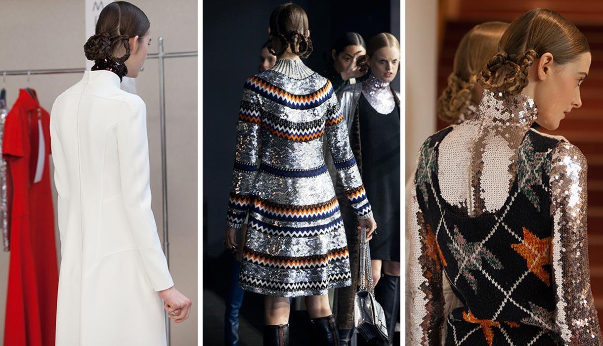 Vrkôčiky v účesoch ku kolekcii Christian Dior Pre-Fall 2015