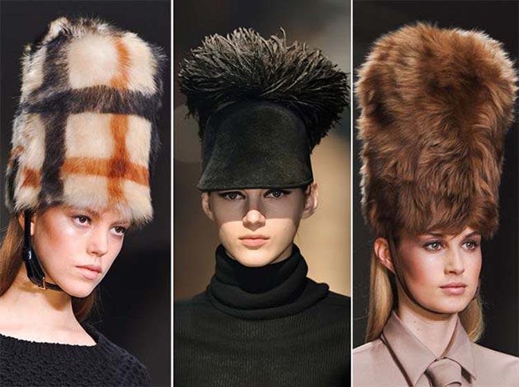 Čiapky a klobúky pre jeseň/zima 2014/2015: Kožuch patrí na hlavu – noste kožušinové čiapky!