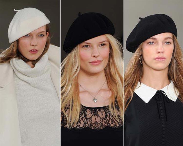 Čiapky a klobúky pre jeseň/zima 2014/2015: Barety sa tento rok vrátili do módy!