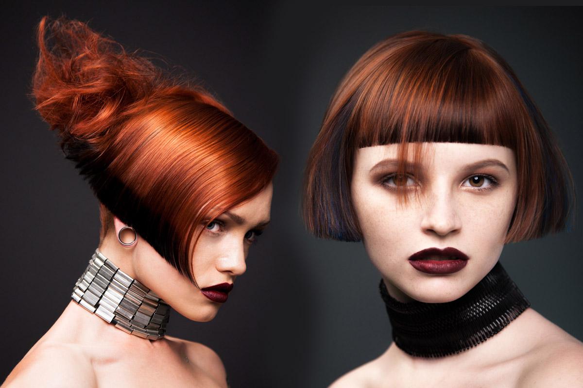 Polodlhé účesy pre jemné vlasy z kolekcie Pkai Hair nazvanej Kai Wan 2014