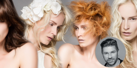 L'Oréal Professionnel predstavuje francúzske účesy umeleckého riaditeľa HCF a svojho ambasádora značky Laurent Decreton pre jeseň/zima 2014/2015.