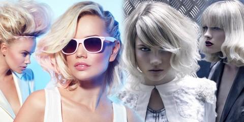 Blond vlasy majú byť v roku 2015 farebne tónované. Najväčším hitom je ružové a strieborné tónovanie. Ktoré podľa vás vyzerá lepšie?