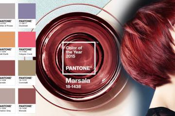 Ako kombinovať účes vo farbe roka 2015 s farbou oblečenia? Pozrite sa na kombinácie farieb, s ktorými bude účes v farbe Marsala skutočnou módou!