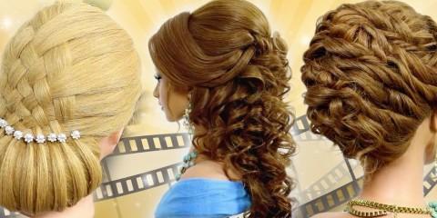 Hairstyliska Sklemina Tatiana v niekoľkých video tutoriáloch ukazuje krok za krokom, ako vytvoril relatívne zložité spoločenské účesy. Naučte sa ich!
