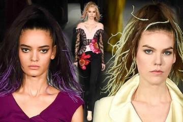 Slávny módny návrhár nám radí, ozdobiť v tejto sezóne spoločenské účesy perím. Predĺžte si vlasy miesto clip-in vlasmi špeciálnymi pierkami do vlasov!