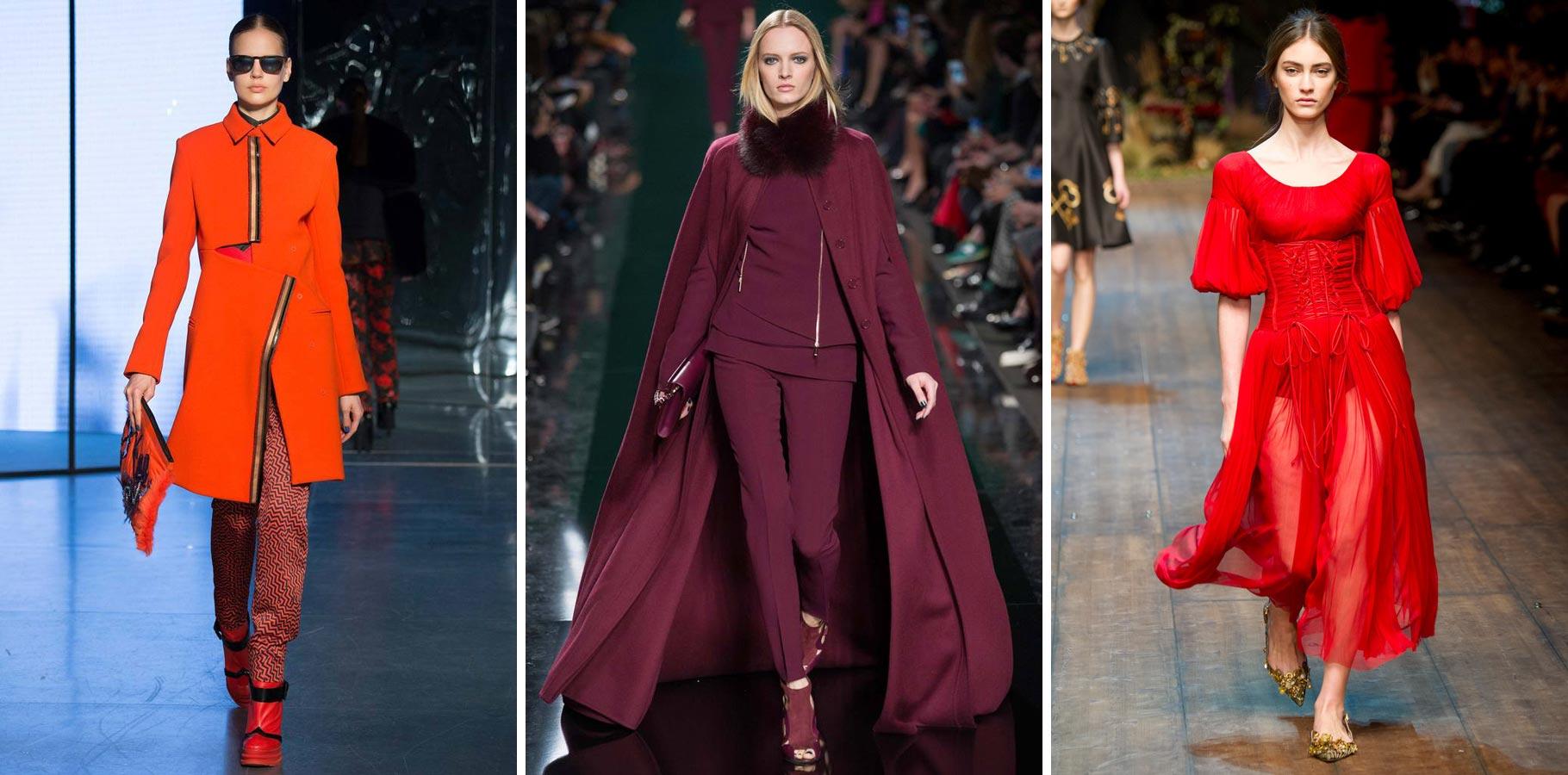 Celá v červenom – zimné módne trendy si obľúbili celočervené outfity.