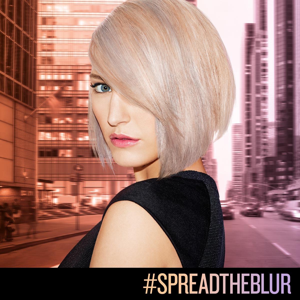 Redken farby na vlasy predstavujú novú techniku farbenia Blur – pastelový Blur podľa Justin Isaac
