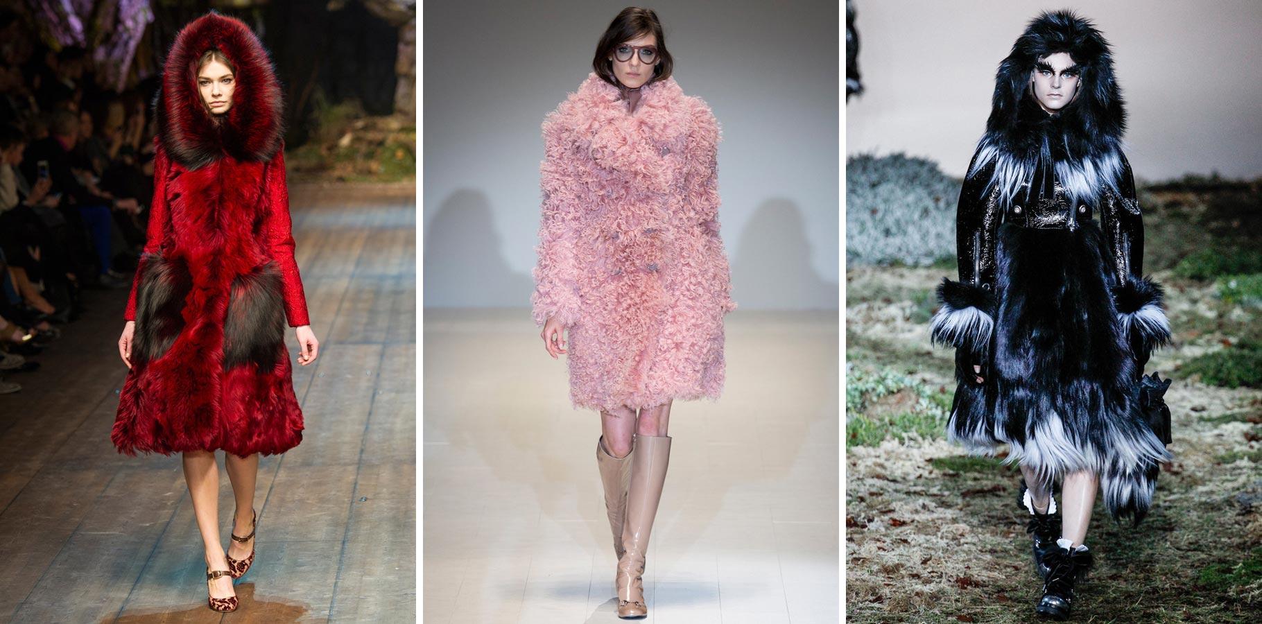Kožušiny sa v zime 2015 nosia veľa extravagantné.